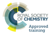 Royal Society of Chemistry approved training logo